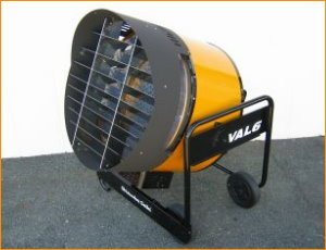 VAL6 100% Efficient Infrared Heaters